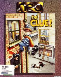 Box cover for The Clue on the Microsoft DOS.