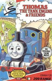 Box cover for Thomas the Tank Engine & Friends on the Microsoft DOS.
