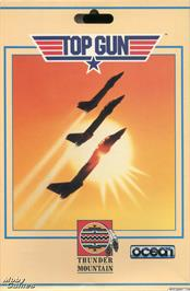 Box cover for Top Gun on the Microsoft DOS.