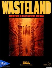Box cover for Wasteland on the Microsoft DOS.