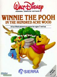 Box cover for Winnie the Pooh in the Hundred Acre Wood on the Microsoft DOS.