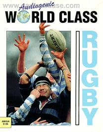 Box cover for World Class Rugby on the Microsoft DOS.