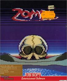 Box cover for Zombi on the Microsoft DOS.