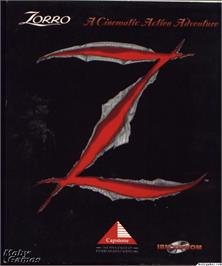Box cover for Zorro on the Microsoft DOS.