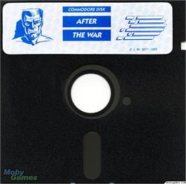 Artwork on the Disc for After the War on the Microsoft DOS.
