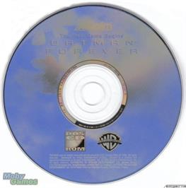 Artwork on the Disc for Batman Forever on the Microsoft DOS.