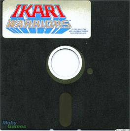 Artwork on the Disc for Ikari Warriors on the Microsoft DOS.