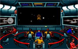 In game image of Star Trek - 25th Anniversary on the Microsoft DOS.