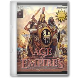 Box cover for Age of Empires on the Microsoft Windows.