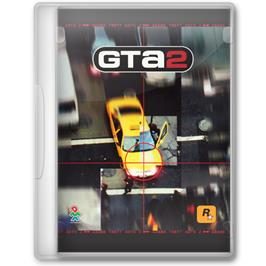 Box cover for Grand Theft Auto 2 on the Microsoft Windows.