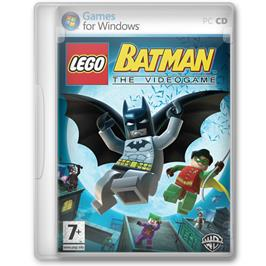 Box cover for LEGO Batman on the Microsoft Windows.