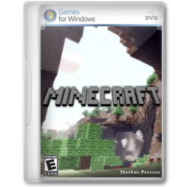 Box cover for Minecraft on the Microsoft Windows.
