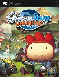 Box cover for Scribblenauts Unlimited on the Microsoft Windows.