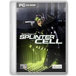 Box cover for Tom Clancy's Splinter Cell on the Microsoft Windows.