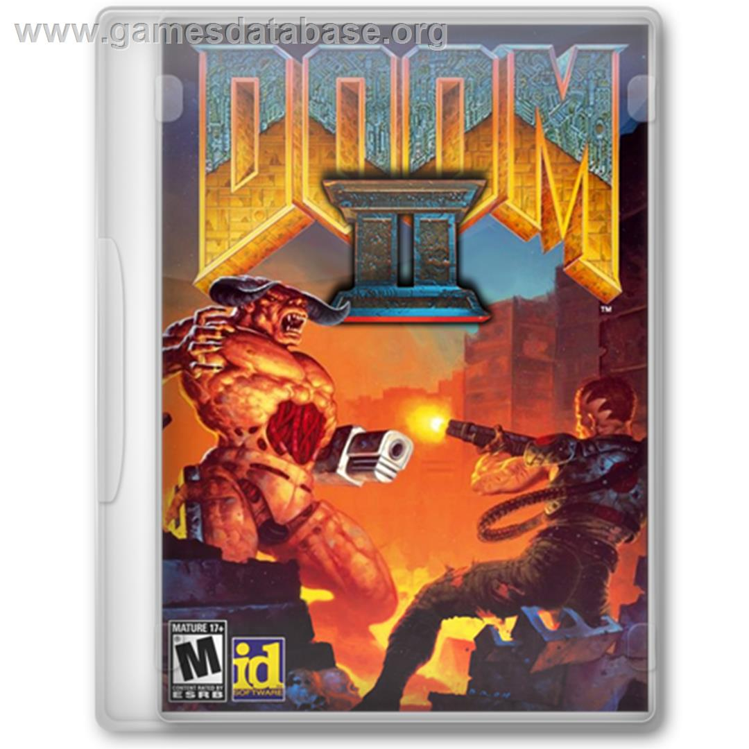 Doom II - Microsoft Windows - Artwork - Box