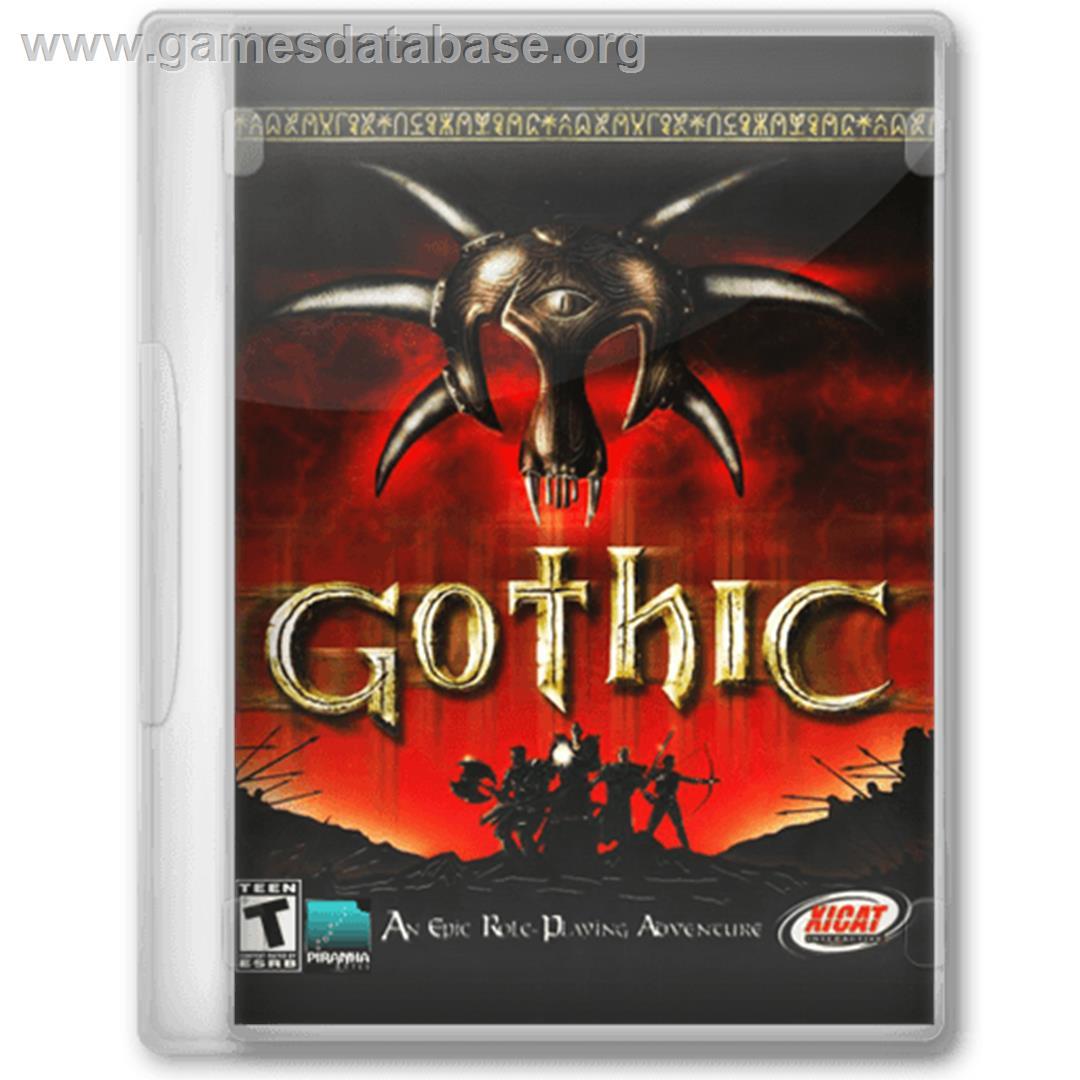 Gothic - Microsoft Windows - Artwork - Box