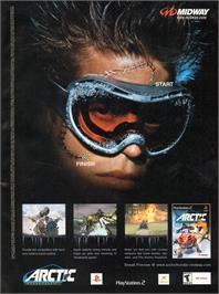 Advert for Arctic Thunder on the Microsoft Xbox.