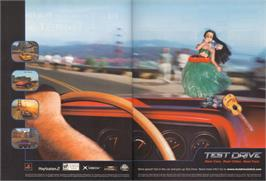 Advert for Test Drive: Eve of Destruction on the Sony Playstation 2.