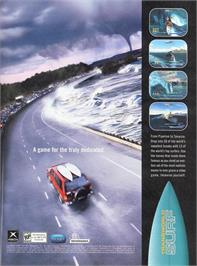 Advert for TransWorld SURF on the Microsoft Xbox.