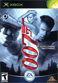 Box cover for 007: Everything or Nothing on the Microsoft Xbox.
