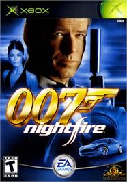 Box cover for 007: Nightfire on the Microsoft Xbox.