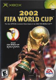 Box cover for 2002 FIFA World Cup on the Microsoft Xbox.