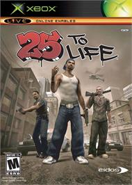 Box cover for 25 to Life on the Microsoft Xbox.