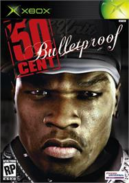 Box cover for 50 Cent: Bulletproof on the Microsoft Xbox.