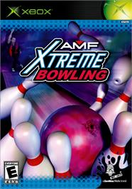 Box cover for AMF Xtreme Bowling on the Microsoft Xbox.