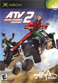 Box cover for ATV: Quad Power Racing 2 on the Microsoft Xbox.