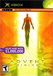 Box cover for Advent Rising on the Microsoft Xbox.