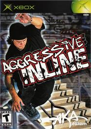 Box cover for Aggressive Inline on the Microsoft Xbox.