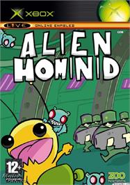 Box cover for Alien Hominid on the Microsoft Xbox.