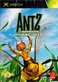 Box cover for Antz Extreme Racing on the Microsoft Xbox.