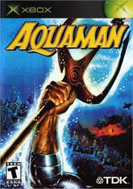 Box cover for Aquaman: Battle for Atlantis on the Microsoft Xbox.