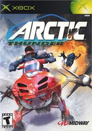 Box cover for Arctic Thunder on the Microsoft Xbox.