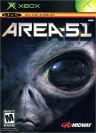 Box cover for Area 51 on the Microsoft Xbox.