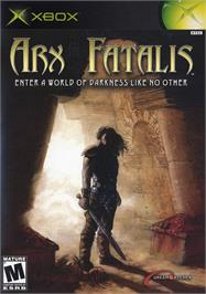 Box cover for Arx Fatalis on the Microsoft Xbox.