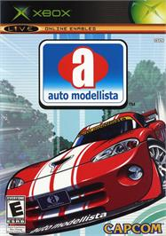 Box cover for Auto Modellista on the Microsoft Xbox.