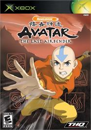 Box cover for Avatar: The Last Airbender on the Microsoft Xbox.