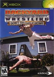 Box cover for Backyard Wrestling: Don't Try This at Home on the Microsoft Xbox.