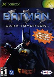 Box cover for Batman: Dark Tomorrow on the Microsoft Xbox.