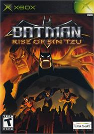 Box cover for Batman: Rise of Sin Tzu on the Microsoft Xbox.