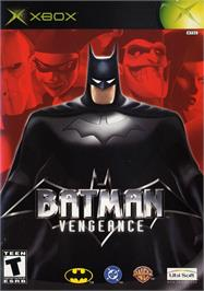 Box cover for Batman: Vengeance on the Microsoft Xbox.