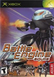 Box cover for Battle Engine Aquila on the Microsoft Xbox.