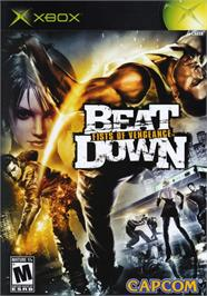 Box cover for Beat Down: Fists of Vengeance on the Microsoft Xbox.