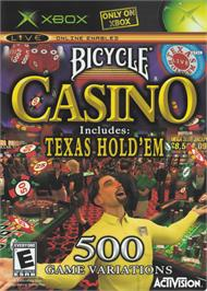Box cover for Bicycle Casino on the Microsoft Xbox.