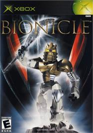 Box cover for Bionicle on the Microsoft Xbox.