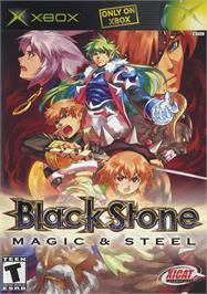 Box cover for Black Stone: Magic & Steel on the Microsoft Xbox.
