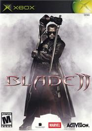 Box cover for Blade 2 on the Microsoft Xbox.